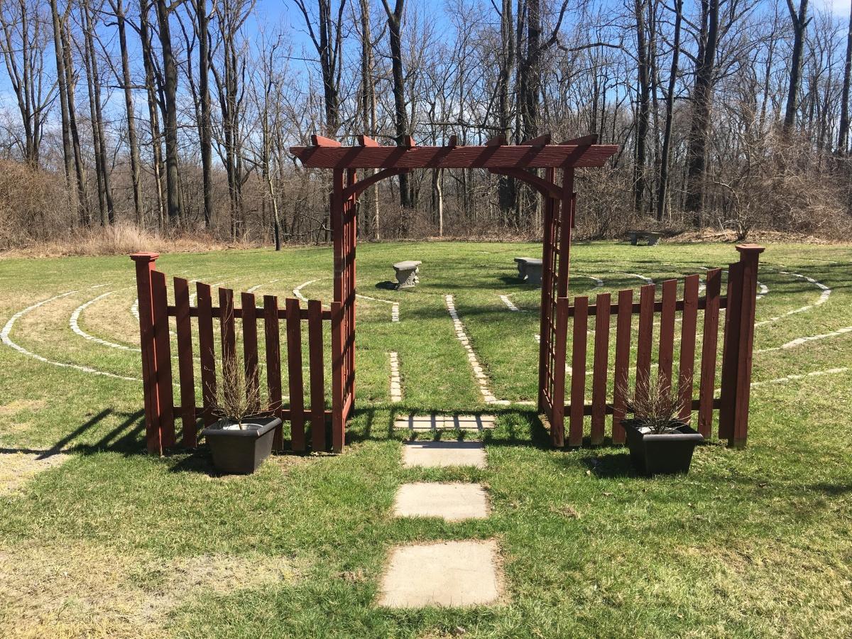 Labyrinth #7: Unity Spiritual Center, Asbury,NJ